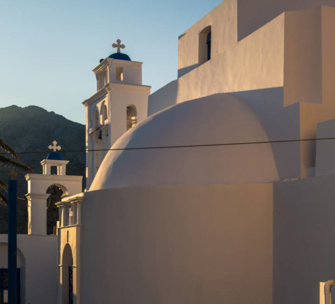 Church at Chora of Serifos